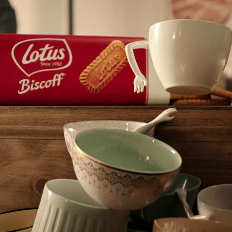 Biscoff commercial